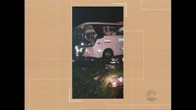 Duas pessoas morreram em um acidente na BR-116 - Assista ao vídeo.