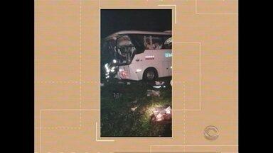 Acidente na BR-116 resulta na morte de duas pessoas - Assista ao vídeo.