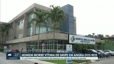 Idoso morre vítima de gripe em Angra dos Reis - Caso é o primeiro confirmado na cidade do sul fluminense, Adesão à campanha de vacinação é baixa no estado do Rio.