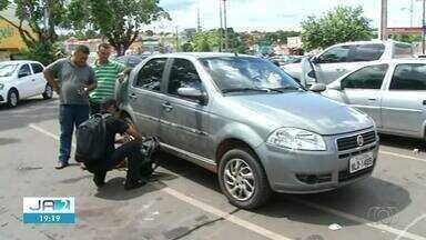 Polícia Civil analisa objetos achados em carro roubado de servidor morto em Palmas - Polícia Civil analisa objetos achados em carro roubado de servidor morto em Palmas