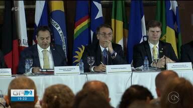 Presidente Jair Bolsonaro participou de reunião da Sudene, no Recife - Ele anunciou a liberação de quatro bilhões de reais para o fundo de financiamento do nordeste.