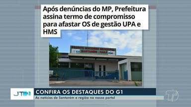 Termo que pede afastamento da OS do HMS e UPA é destaque no G1 Santarém e Região - Veja essa e outras notícias pelo celular, tablet e computador.