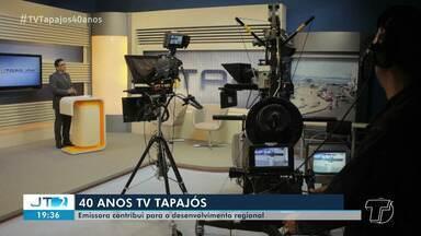 40 anos da TV Tapajós: emissora contribui no desenvolvimento regional do oeste do Pará - TV Tapajós completa quatro décadas de histórias neste domingo (26).