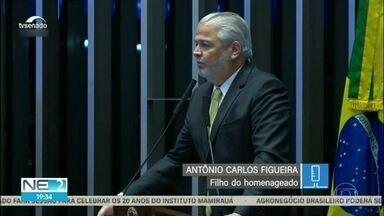 Senado homenageia centenário de nascimento do fundador do Imip - autoridades falaram sobre a importância do hospital, localizado no Recife