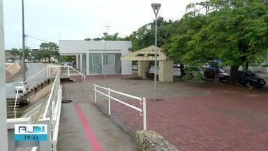 Cais da Lapa, em Campos, passa por revitalização e vai ganhar área de shows - Assista a seguir.
