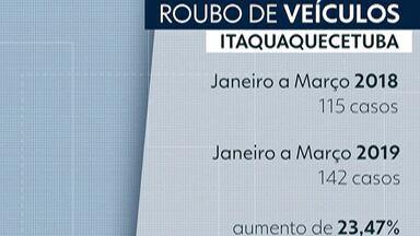 Furtos no bairro do Piratininga, em Itaquaquecetuba, preocupam moradores - Com sensação de insegurança, moradores mudam a rotina.