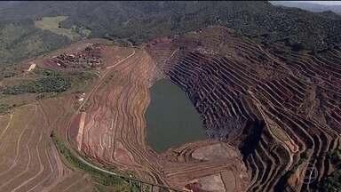 Cresce a tensão em Barão de Cocais (MG) com movimentação de parede de mina - Segundo a Agência Nacional de Mineração, aumentou o deslocamento do talude, que pode ceder a qualquer momento e atingir a barragem da região.
