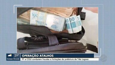 PF faz operação contra fraudes e licitações na prefeitura de Três Lagoas - Contratos envolvem R$ 12 milhões.