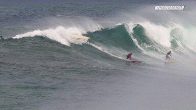 Surfe Em Waimea Com Suellen Naraísa