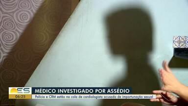 Pacientes de médico preso por assédio sexual denunciam novos casos, no ES - O Conselho Regional de Medicina também apura o caso.