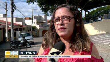 Aumenta número de casos de bullying nas escolas de Linhares, no Norte do ES - Bullying é crime. Se a pessoa for maior de idade, ela pode ser presa por até três anos e ter que pagar indenização. Se for menor de idade, terá que participar de programas disciplinares.