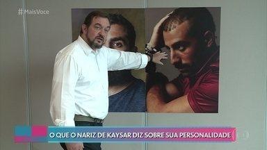Kaysar Dadour diz que ainda não encontrou namorada no Brasil - Especialista analisa perfil e nariz de Kaysar, e avisa que o ator da novela das 6 é fiel nos relacionamentos
