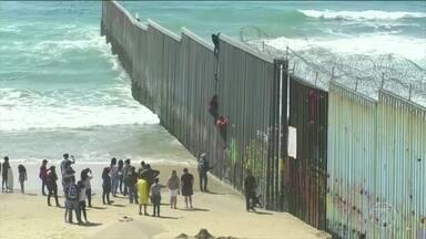 Trump acusa o México de não combater a imigração ilegal e taxa produtos mexicanos - Sobretaxa começa com 5%, mas pode chegar a 25% ainda este ano
