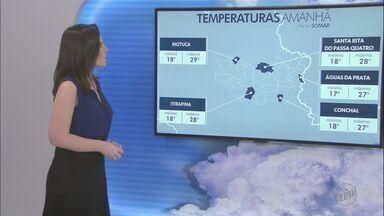 Veja como fica o tempo no fim de semana - Em Araraquara, previsão é de sol e tempo quente.