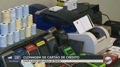 Casal é preso por clonagem de cartão de crédito em Araras - Eles agiam em várias cidades da região.