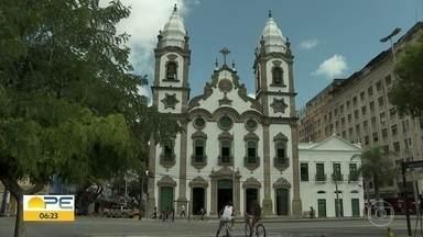 Matriz de Santo Antônio é reaberta após quatro anos de reforma - Igreja fica na Avenida Dantas Barreto, em frente à Praça da Independência.