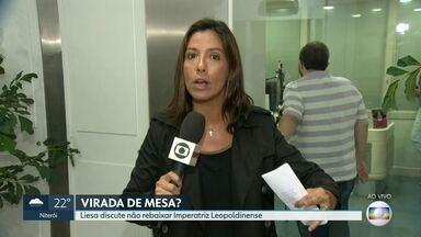 Liesa discute não rebaixar Imperatriz Leopoldinense - Reunião na sede da liga aborda lista de escolas que vão desfilar no Grupo Especial em 2020.