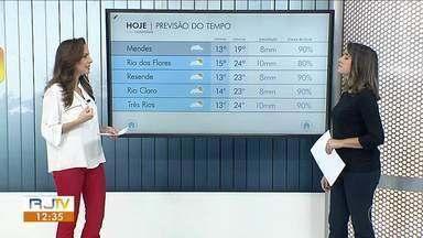 Meteorologia prevê terça-feira fria no Sul do Rio - Temperaturas não chegam aos 25 graus.