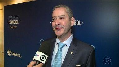 Presidente da CBF fala pela primeira vez sobre situação de Neymar - Rogério Caboclo disse que não há expectativa que o jogador não esteja na seleção.