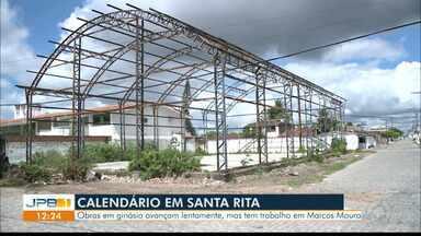 Calendário JPB volta ao Marcos Moura, em Santa Rita - Moradores pedem reforma de ginásio.