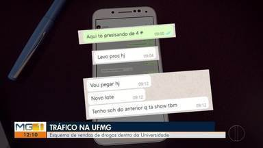 Polícia Civil apura tráfico de drogas na UFMG em Belo Horizonte - De acordo com a PC, os traficantes vendiam as drogas e lucravam pela grande demanda de alunos do campus e de pessoas de outros locais; UFMG disse em nota que os suspeitos presos não estudavam na Universidade.