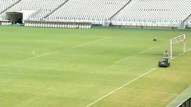 Gramado da Arena Castelão passará por melhoria na pausa da Copa América - Gramado da Arena Castelão passará por melhoria na pausa da Copa América