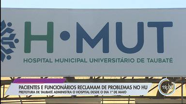 Após um mês de municipalização, pacientes reclamam de piora no atendimento do HU - Eles apontam que demora para exames aumentou.