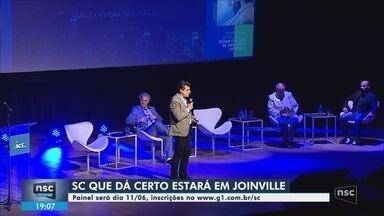 Joinville é a terceira cidade a receber o SC Que Dá Certo; inscreva-se - Joinville é a terceira cidade a receber o SC Que Dá Certo; inscreva-se