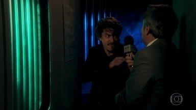 Murilo é hostilizado por Jerônimo - Jerônimo sai enfurecido