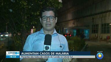 JPB2JP: Sobe para 10 o número de casos confirmados de Malária na Paraíba - Pacientes são todos da cidade do Conde no Litoral Sul.