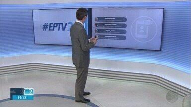 Veja as mensagens dos telespectadores no EPTV 2 desta terça-feira (4) - Participe com a #EPTV2 no Twitter.