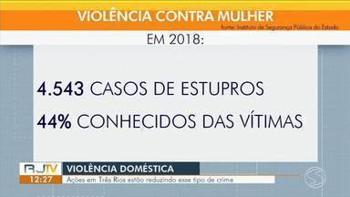 Ações em Três Rios estão reduzindo crimes de violência doméstica - Por causa das atividades, desde 2015 não é registrado caso de feminicídio na cidade.