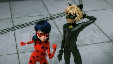 Tormenta - Depois de perder o concurso de melhor apresentador de TV, Aurore planeja uma vingança. Ladybug e Cat Noir vão ter que encontrar quem está por trás de tudo isso.