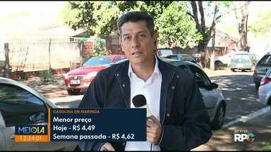 Gasolina e etanol têm queda nos preços em Maringá - Ainda assim, preço está mais caro que em Curitiba, Londrina e outras cidades.