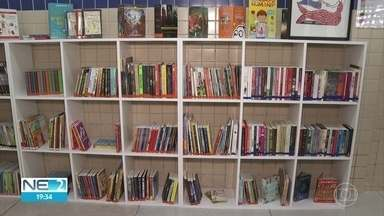 Espaço de leitura com 1,2 mil livros é inaugurado em Olinda - Localizada em Jardim Atlântico, sala também disponibiliza jogos educativos.