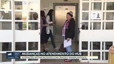 Hospital Universitário de Brasília faz mudanças no atendimento - Mudança começou a valer no fim de semana e afeta pacientes com câncer e transplantados que já estão em tratamento no hospital.