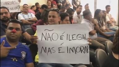 Vereadores de Planaltina de Goiás votam proposta de aumento de 67% nos salários - Aumento valeria a partir de 2021 e chegou a ser aprovado em primeiro turno. Mas os vereadores recuaram diante da pressão popular.