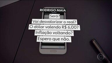 Ideia da moeda comum gerou reações no meio político e econômico - Rodrigo Maia, presidente da Câmara, questionou numa rede social a viabilidade dessa integração monetária.