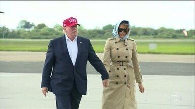 Donald Trump suspende tarifas a produtos do México - O presidente dos Estados Unidos anunciou um acordo sobre migração com o México.