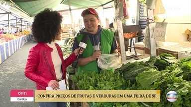 'É de Casa' confere os preços em feiras pelo Brasil - Saiba como estão os preços no Rio de Janeiro, São Paulo e Florianópolis