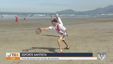 Tem início a 52ª edição do Torneio Popular A Tribuna de tamboréu em Santos, SP - Os jogos acontecem na praia da Pompéia neste sábado (8).