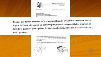 Corumbaense e Operário desistem de participar da Copa Verde - Clubes alegaram dificuldades financeiras e falta de estádio para justificar desistência.