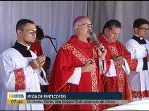 Católicos comentam o Dia de Pentecostes em Montes Claros - Cerca de 70 adolescentes participaram da celebração.