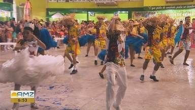 Final de concurso de quadrilheiros reúne centenas de grupos em Manaus - Festa animou público.