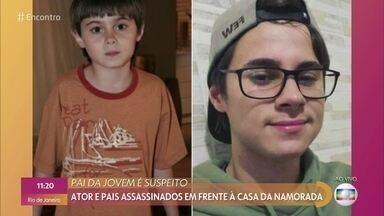 Rafael Miguel e seus pais foram assassinados em frente à casa da namorada - O pai da namorada do ator é o suspeito de ter atirado nos três nesta tarde de domingo