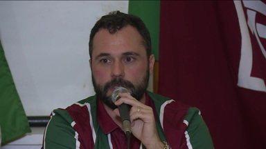 Novo presidente do Fluminense, Mário Bittencourt toma posse para mandato até 2022 - Novo presidente do Fluminense, Mário Bittencourt toma posse para mandato até 2022