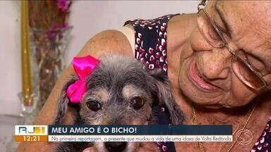 Série 'Meu Amigo é o Bicho' mostra amor incondicional entre donos e animais - Parte I - Conheça a história da Dona Myriam e a Pepê.