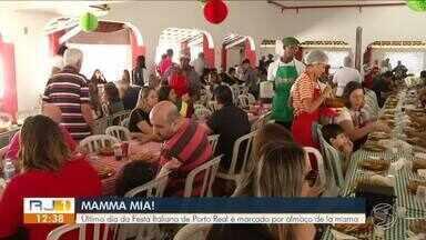Tradicional almoço 'De La Mamma' movimenta Festa da Cultura Italiana em Porto Real - Evento ajuda a contribuir para que tradição não se perca na região.