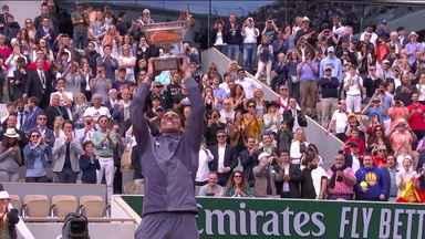Rafael Nadal vence Dominic Thiem e conquista o 12º título de Roland Garros - Rafael Nadal vence Dominic Thiem e conquista o 12º título de Roland Garros
