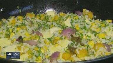 Prato Feito: Kassab ensina receita de arroz junino da roça - Confira passo a passo.